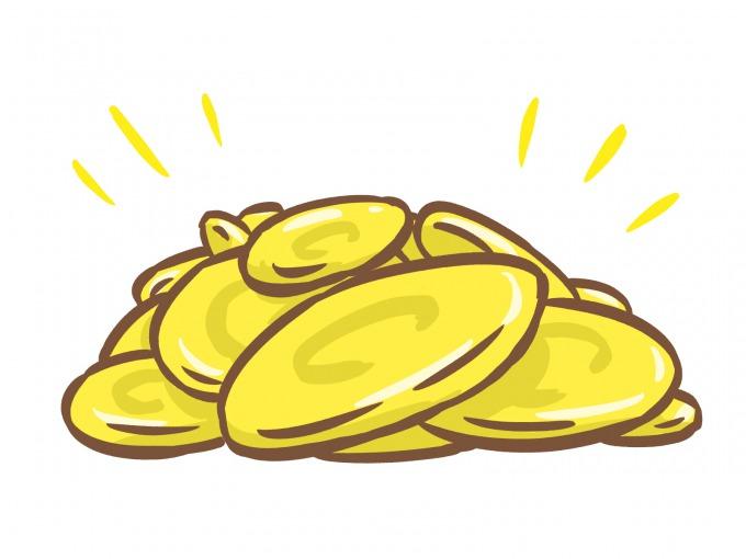 Uコインをイメージしたイラスト